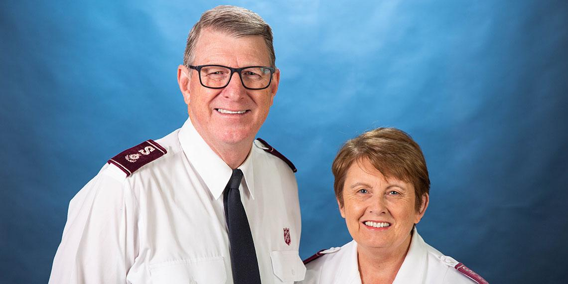 Commissioners Mark and Julie Campbell